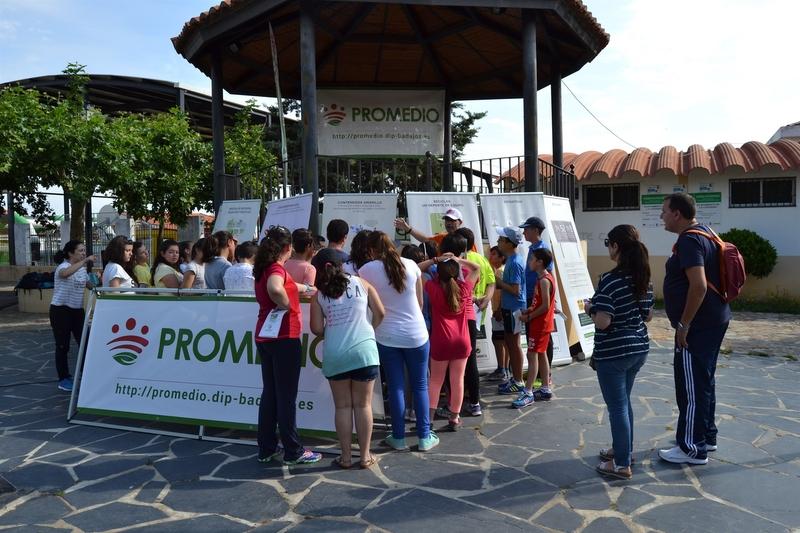 Más de 200 escolares participan en las I Olimpiadas del Reciclaje del Consorcio Promedio de la Diputación