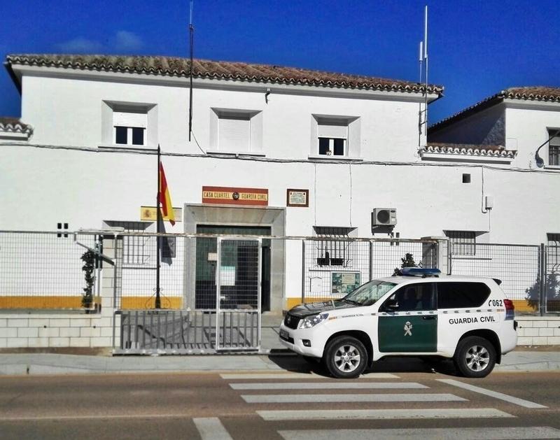 Tres investigados y detenidos como presuntos autores de robos en Zalamea de la Serena