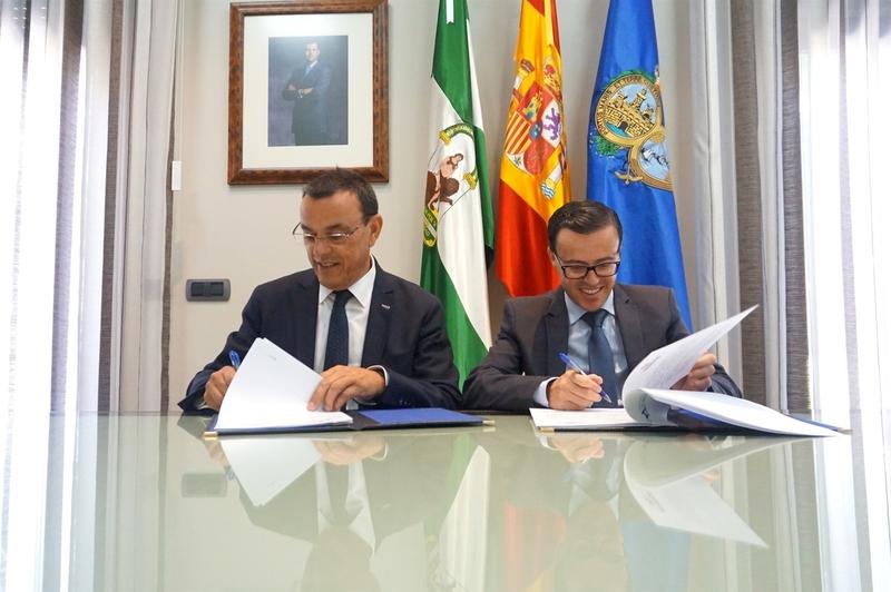 Las diputaciones de Huelva y Badajoz colaborarán en la ejecución de acciones tributarias en ambas provincias