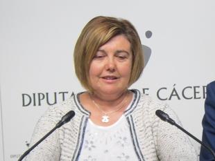 La presidenta de la Diputación de Cáceres pide