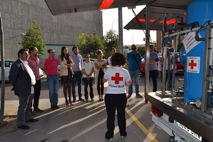 Promedio y Cruz Roja estrechan lazos de colaboración para garantizar el abastecimiento de agua en emergencias