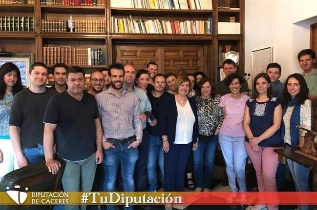 Contratados 16 operadores TIC para atender las necesidades tecnológicas de los ayuntamientos de la provincia de Cáceres