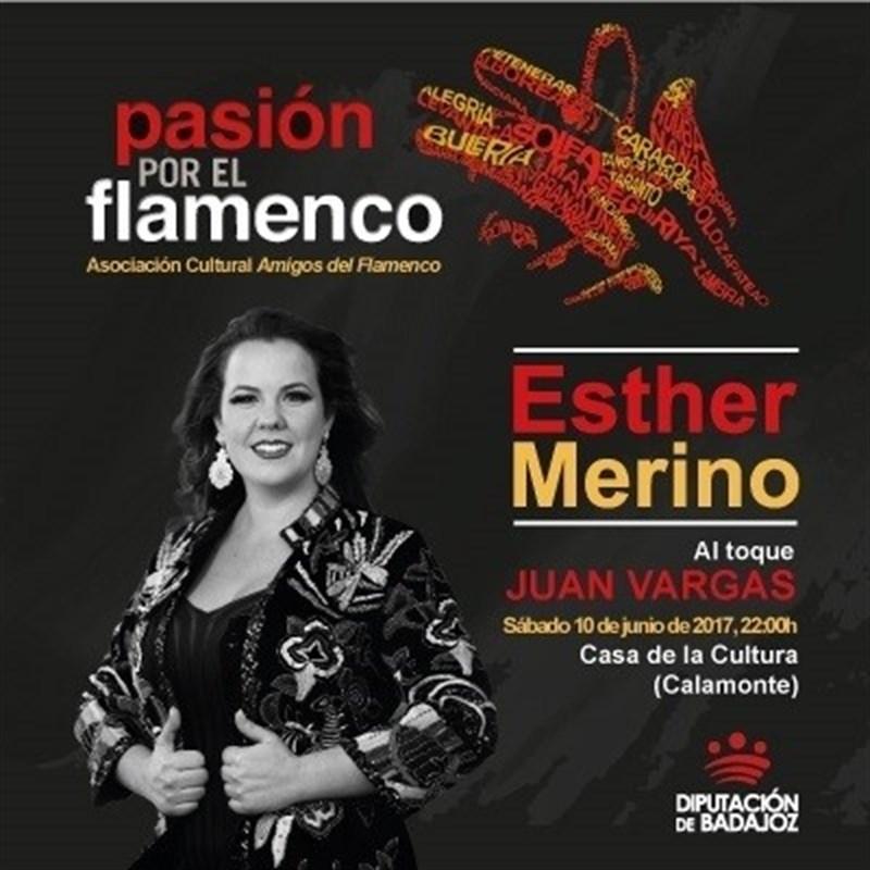 Un recital de Esther Merino abre en Calamonte el circuito ''Pasión por el Flamenco'' de la Diputación