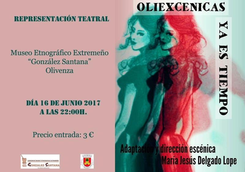 Una obra sobre los derechos de la mujer se representa en el Museo 'González Santana' de Olivenza
