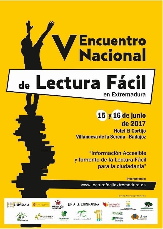 El V Encuentro de Lectura Fácil se celebra este jueves y viernes en Villanueva de la Serena
