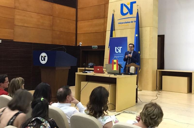 La Universidad de Vest, en Rumanía, entrega sus Premios Felipe Trigo