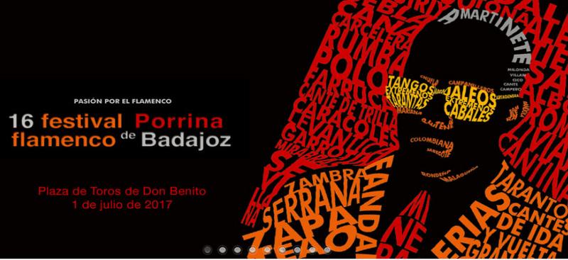 El 16 Festival Porrina de Badajoz se celebrará el 1 de julio en Don Benito