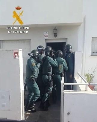Detenidos los tres integrantes de una organización criminal dedicada al tráfico de drogas en Campiña Sur