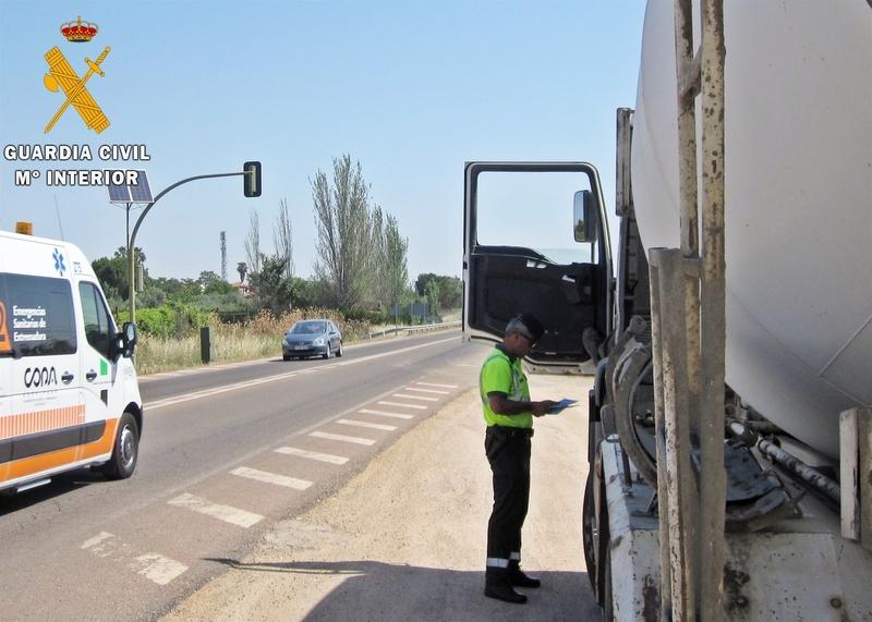 Denunciado un conductor por notificar un aviso falso de un siniestro para eludir una infracción de tráfico
