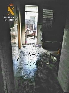Investigado un vecino de Arroyo de San Serván por incendiar dos veces una vivienda por ''conflictos vecinales''