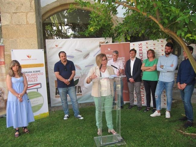 La Diputación de Cáceres estudia pedir un préstamo de unos 20 millones de euros para planes de generación de empleo