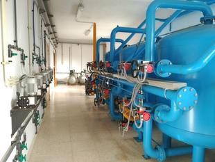 Promedio gestiona dede el 1 de julio el abastecimiento de agua potable a los 4.175 habitantes de Hornachos y Mengabril