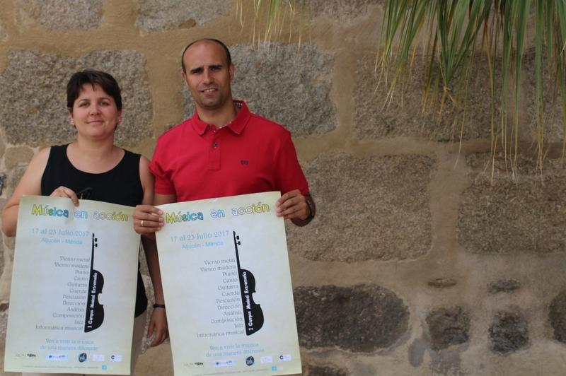 El I campus musical extremeño Música en acción se celebrará del 17 al 23 de julio en Aljucén