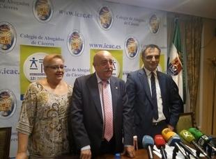 El turno de oficio en la provincia de Cáceres tramitó en 2016 un total de 6.918 expedientes