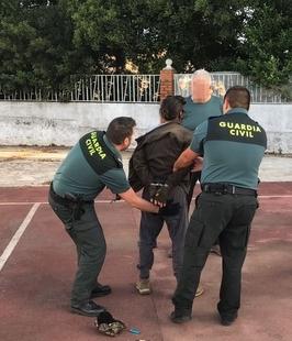 Detenido el varón que agredió a su padre en La Codosera y disparó a otras dos personas en su huida