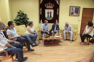 La Diputación de Badajoz apoyará a los ganaderos afectados por el incendio de Arroyo de San Serván
