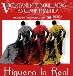 El V Certamen de Novilladas en Clase Práctica de la Diputación de Badajoz comienza este sábado en Higuera la Real