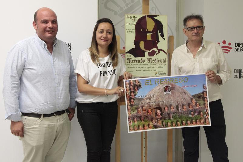 Un total de 40 artesanos darán vida al III Mercado Medieval Transfronterizo de Valencia del Mombuey