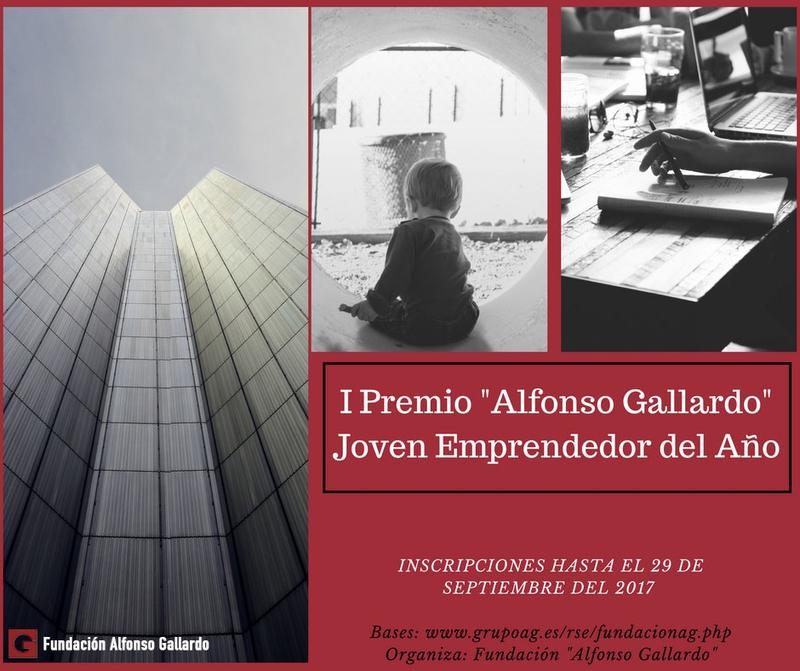 La Fundación ''Alfonso Gallardo'' convoca el I Premio Joven Emprendedor del Año dotado con 5.000 euros