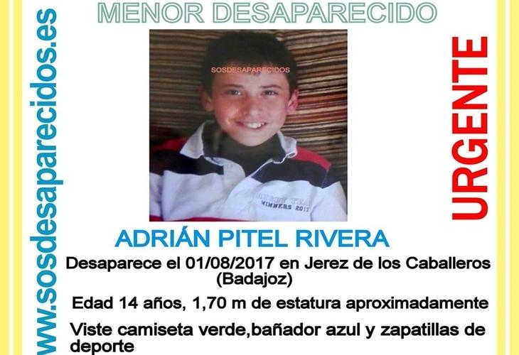 Localizan al menor desaparecido en Jerez de los Caballeros que se había fugado