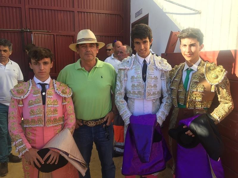 Hinojosa, Calzadilla y Zahínos han acogido clases prácticas programadas en el V Certamen de Novilladas