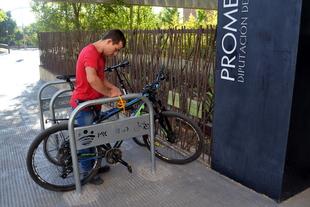 PROMEDIO incorpora aparcamientos para bicicletas al Centro I+D+i de Badajoz
