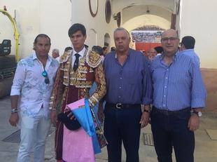 Carlos Domínguez e Ismael Jiménez han participado en certámenes de novilladas en Málaga y Granada