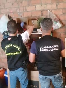 Detenidas dos personas en Puebla del Maestre por amenazas e incendio forestal
