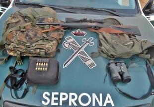 La Guardia Civil abre diligencias a tres personas por caza furtiva en Llerena