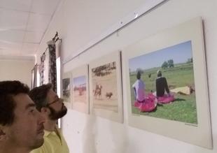 La exposición temporal ''toros y dehesa extremeña'' de José Mª Ballester viaja a Bienvenida