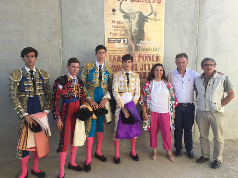Los alumnos de la Escuela Taurina de la Diputación triunfan en plazas de toros de la geografía nacional y provincial