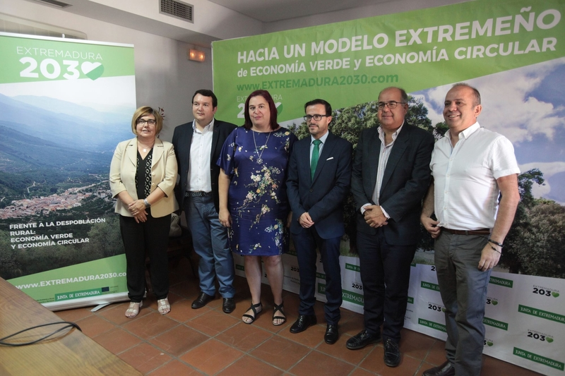 Gallardo dice que la Economía Verde y Circular puede contribuir a frenar la despoblación