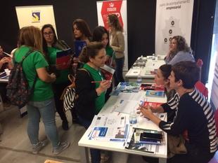 El Centro Integral de Desarrollo de Olivenza acogió hoy la Feria del Emprendimiento, Empleo y Empresa