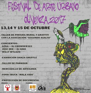 El I Festival de Arte Urbano de Olivenza propone un espacio de ocio juvenil alternativo basado en diversas disciplinas