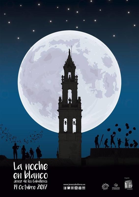 Jerez de los Caballeros celebra ''La noche en blanco'' el sábado, 14 de octubre