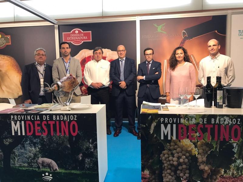La Diputación de Badajoz y las Denominaciones de Origen presentes en Gastronomika 2017