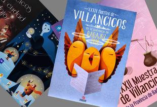 El plazo para el concurso del cartel de la XXXV Muestra de Villancicos de la Diputación de Badajoz se abre este martes