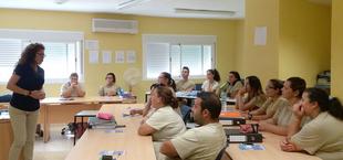La Escuela Profesional El Trampín de Lobón visita el Centro Integral de Desarrollo Vegas Bajas