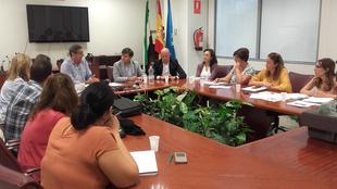 Primera reunión de coordinación de la Secretaría General de Empleo y las dos Diputaciones con respecto a los agentes de empleo y desarrollo local