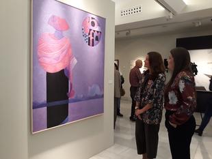 La artista portuguesa Susana Chasse consigue el XXXV Premio de Pintura 'Eugenio Hermoso'