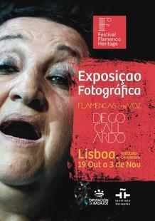 La muestra fotográfica ''Flamencas con voz'' recala en Portugal dentro del Festival Flamenco ''Heritage''