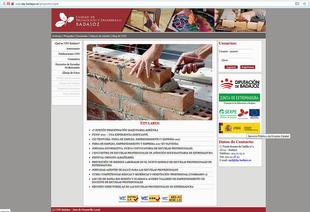 La UPD Guadiana VIII abre una página web