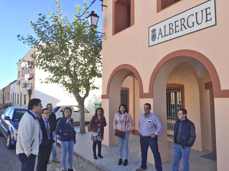El presidente de la Diputación visita La Haba