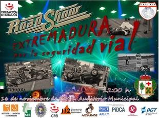 Oliva de la Frontera acoge el Road Show para concienciar sobre los peligros en la conducción
