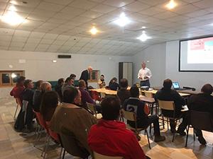 Reunión de trabajo con el sector del granito en Quintana de la Serena
