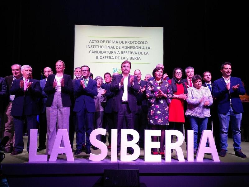 Firmado el Protocolo Institucional de Adhesión a la Candidatura a Reserva de la Biosfera de la Siberia Extremeña