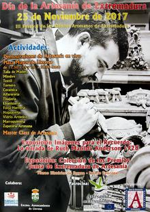 El próximo 25 de noviembre se celebrará en Llerena el ''Festival de los Oficios Artesanos''