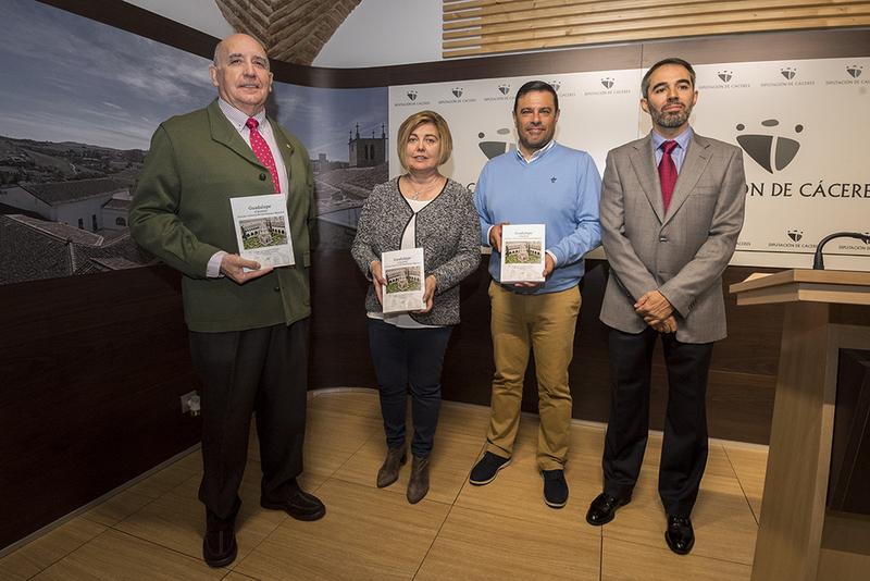 Expertos abordan la gestión del patrimonio de Guadalupe en un libro editado por la Diputación de Cáceres