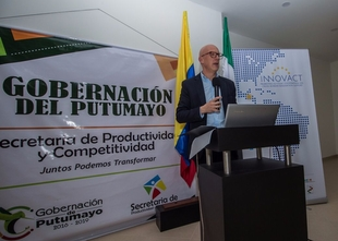 La Diputación ha participado en una reunión de trabajo en Colombia sobre cohesión territorial