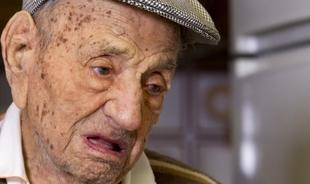 El varón más longevo del mundo será nombrado este miércoles Hijo Predilecto de Bienvenida a sus 113 años